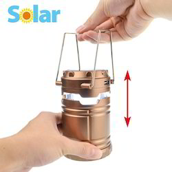 Solar Lamp with USB for Phone Charging
