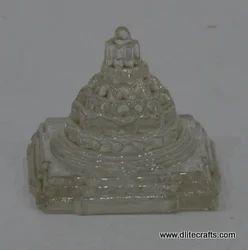 Glass Shree Yantra