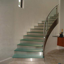 Steel Glass Railings