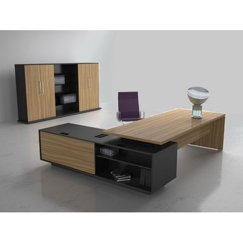 L Shape Office Furniture Table