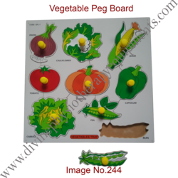Vegetable Peg Board
