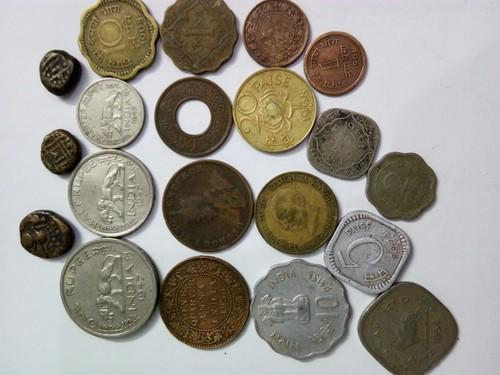 Gold And Copper : Copper and silver and bronce silver and gold and copper old coins