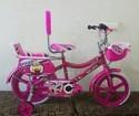 Rockstar 16 Inch Kids Pink Bicycle