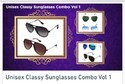 Male Unisex Classy Sunglasses Combo