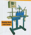 Angular Neck Leak Tester