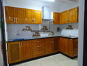 Rubberwood Modern Kitchen Cabinets