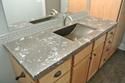 Solid Surface Bathroom Counter Tops