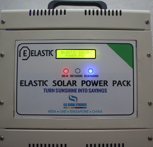 Elastic Solar Power Pack