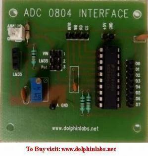 Single Channel Adc Interfacing Module