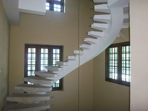 Sudhakar Engineering MS Single Beam Stair