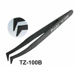 Conductive Tweezers (Curved Fine Tips)
