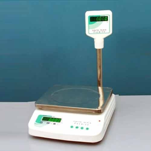 Green Table Top Weighing Scale