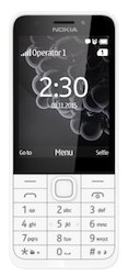 Nokia 230 White Mobile Phones