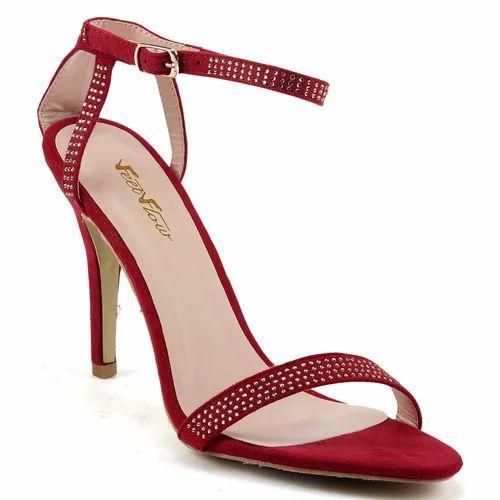4fc16af3bed3 Ladies Pencil Heel Fancy Sandal at Rs 800  piece(s)