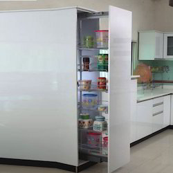 Le Stainless Steel Kitchen Tall Unit