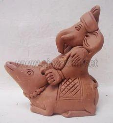Artistic Rat Ganesha Statue
