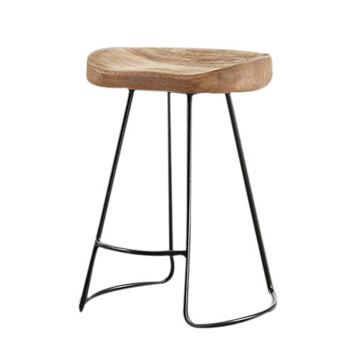 380 360 720mm Wooden Top Bar Stool