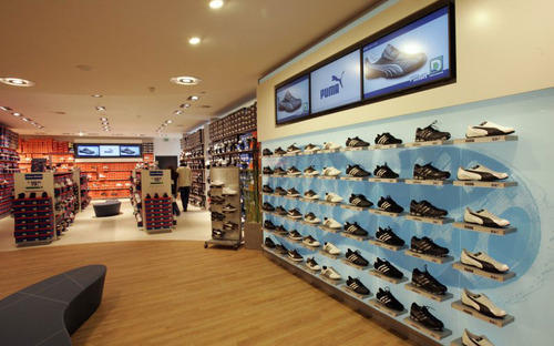Footwear Shop Interior Work In Ekkatuthangal, Chennai