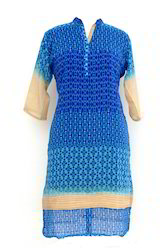 Indo Western Designer Tunic Kurti