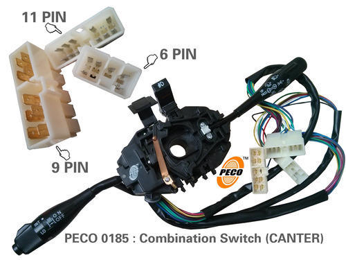combination switch eicher canter peco 500x500 combination switches wholesale trader from pune santro xing electrical wiring diagram at edmiracle.co