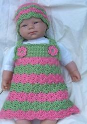 Cotton Hand Crochet Baby Clothing