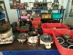 Volvo Hydraulic Pump Service