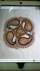 Fancy Kery Rangoli Acrylic