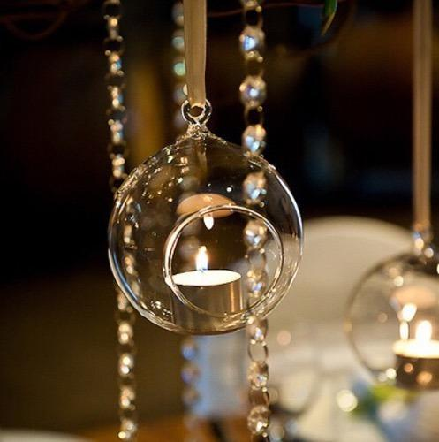 Hanging Glass Ball Candle Holder At Rs 150 /piece