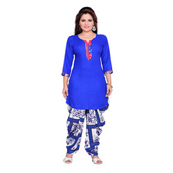 Royal Blue Patiala Suit