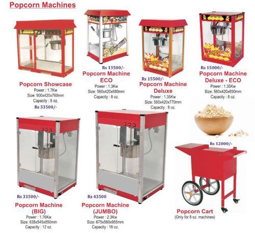 Electric Popcorn Machine Commercial