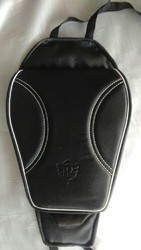 Leather Black Royal Enfield Tank Cover