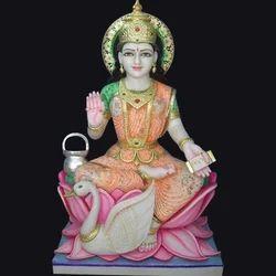 Marble Goddess Gayatri Statue