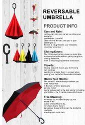 Red Nylon Umbrella