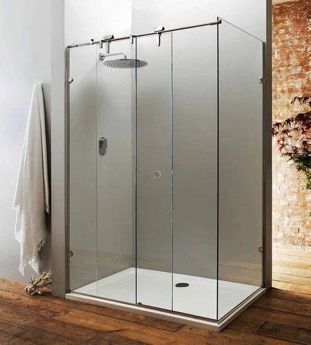 Bathroom Sliding Glass Shower Doors.Tempered Glass Sliding Shower Door