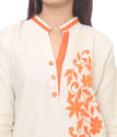 Cotton Designer Embroidered Kurti