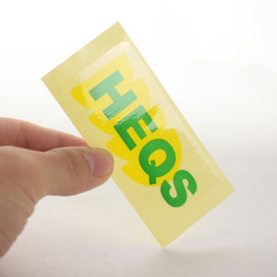 Transparent PVC Sticker