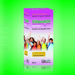 Livealth Biopharma Vitaealth Tonic, Packaging Size: 200 ml
