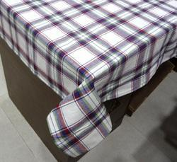 Checked Cotton Table Cloth