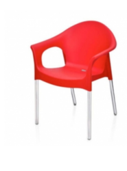 Chair Bright Red