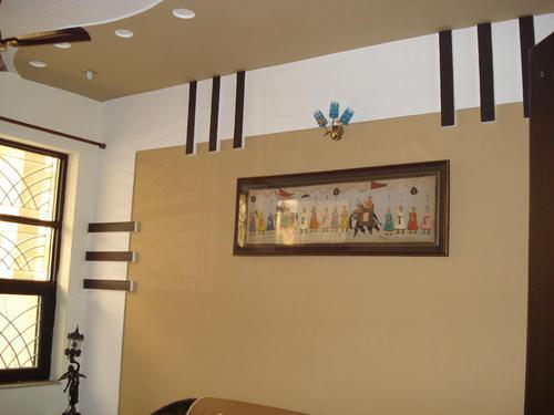 Pop design on wall for home the expert for Wall ceiling pop designs