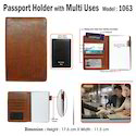 Multi Utility Passport Holder 1063