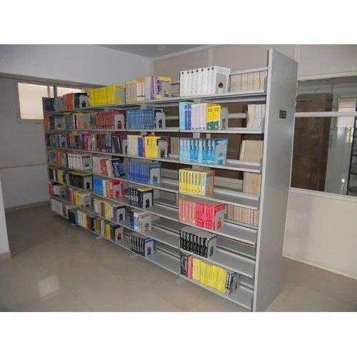 metal library bookshelves - Metal Library Bookshelves