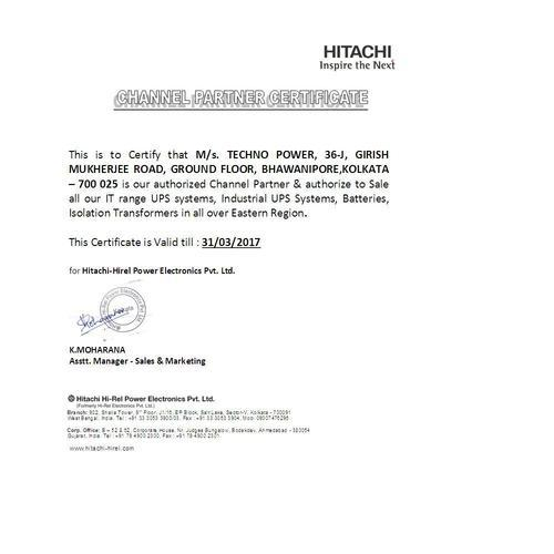 Techno Power - Authorized Wholesale Dealer from Kolkata