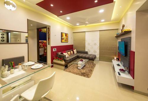 Contemporary Residential Flat Interior Designing And