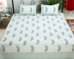 Cotton Printed Diwan Bed Sheet