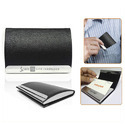 PU Leather Business Visiting Card Holder