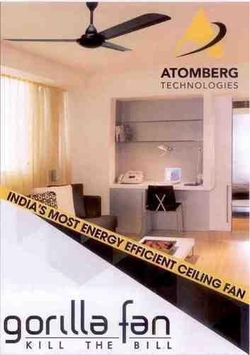 Aluminium Energy Saving Ceiling Fan Rs 3500 Unit Su Bhaskar