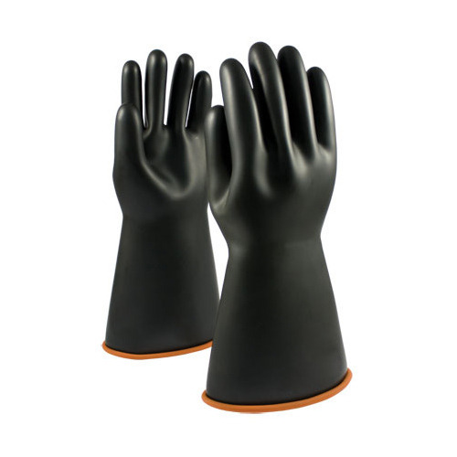 Electric Shock Proof Rubber Hand Gloves Of Test Volt 5000