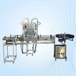 Ss Hand Sanitizer Filling Line Machine