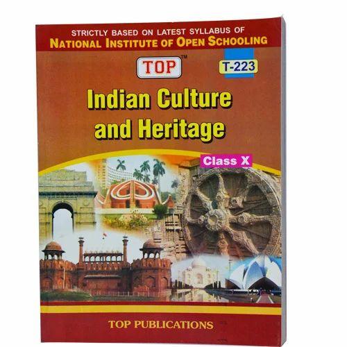 Nios Indian Culture & Heritage Book